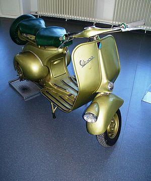Hoffmann (motorcycle) - Hoffmann Vespa 125