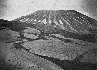 Giuseppe Mercalli - Mercalli's photograph of Vesuvius, taken immediately after its eruption in 1906.