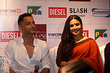 Vidya Balan (on right) and Sujoy Ghosh(on left)