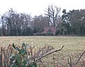 View across grassland to artist's studio - geograph.org.uk - 1131696.jpg
