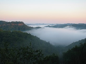 Daniel Boone National Forest - Red River Gorge is one of the most visited areas in the national forest