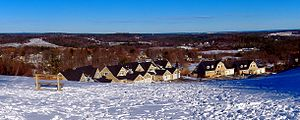 Amesbury, Massachusetts - View northeast from Powwow Hill