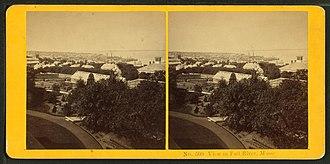 Benjamin W. Kilburn - Image: View in Fall River, Mass, by Kilburn Brothers 2