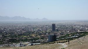 View of Herat in 2009