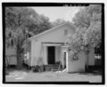 View of east rear of 2309 Twelfth Street, facing west. - 2309 North Twelfth Street (House), Tampa, Hillsborough County, FL HABS FL-459-5.tif