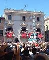 Vilafranca del Penedès, 2 de 9 amb folre i manilles dels Castellers de Vilafranca - panoramio.jpg