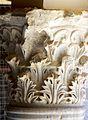 Villa Romana del Casale-Grand péristyle-Colonne corinthienne.jpg