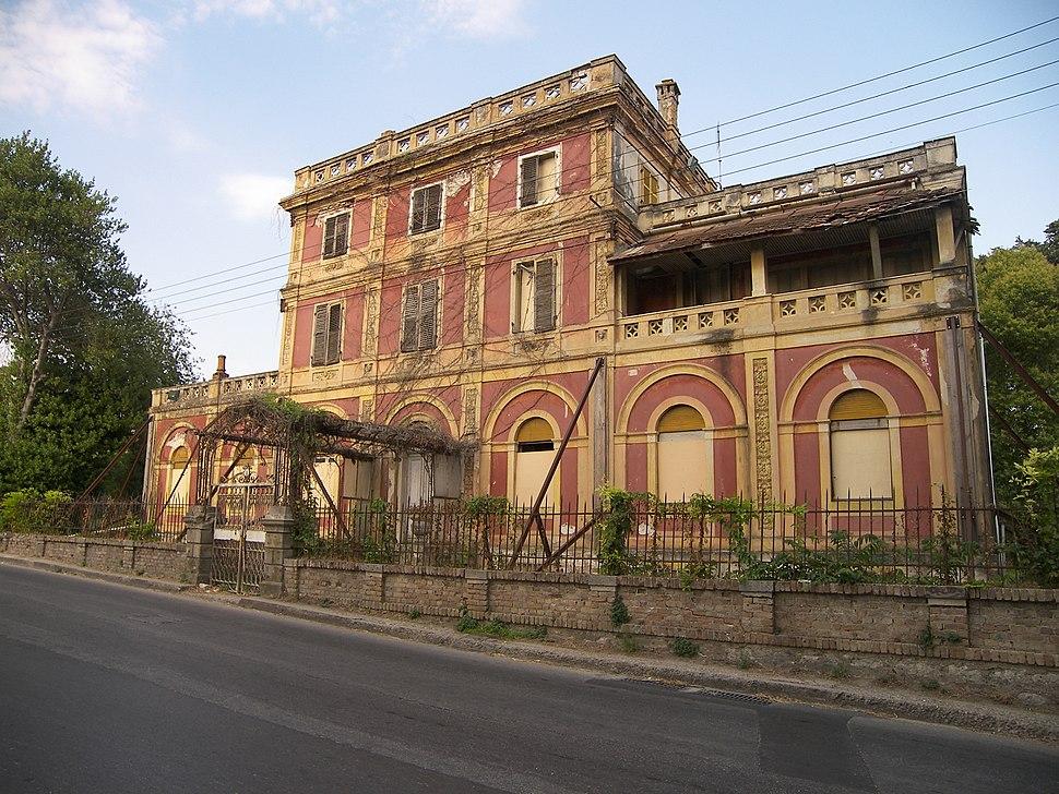 Villa Rossa in Corfu