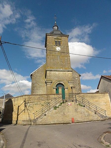 Ville-au-Montois (Meurthe-et-M.) église