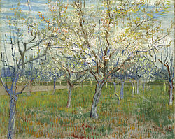 Vincent van Gogh: The pink orchard