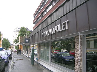 Vinmonopolet - Exterior of Vinmonopolet in Briskeby