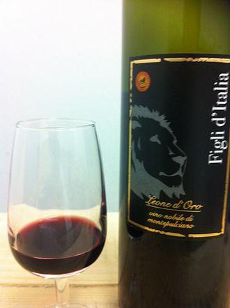 Vino Nobile di Montepulciano - A Vino Nobile di Montepulciano.