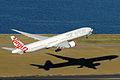 Virgin Australia Boeing 777-3ZGER take off from Sydney Airport.jpg