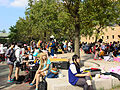 Visitors and Cosplayers in East Square of NTU Gym 20151025b.jpg