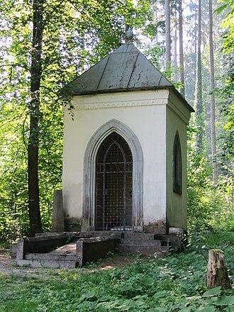 Ivan Tavčar - Tavčar's tomb at the Visoko estate