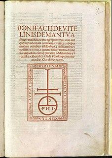 Bonifazio Vitalini Italian jurist and prelate from Mantua (c.1320-1389)
