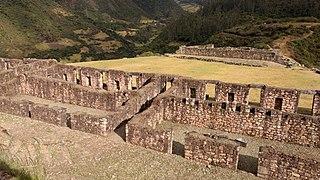 Vitcos Archaeological site in Peru