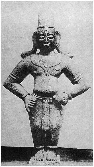 Bahinabai - Bahinabai reported visions of the Varkari's patron deity Vithoba, pictured