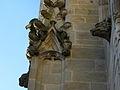 Vitré (35) Église Notre-Dame Façade sud 4ème contrefort 03.JPG