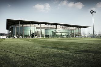 Volkswagen Arena - Facade of the stadium (2012)
