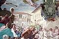 Volterrano, fasti medicei 07 Cosimo II riceve i vincitori dell'impresa di Bona, 1637-46, 03 p. cavalieri a pisa.JPG