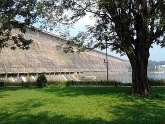 Brindavan Gardens - Krishana Raja Sagara Dam