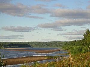 Komi Republic - The Vym River, Komi Republic, Russia