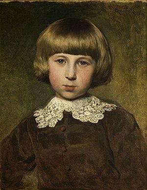 Władysław Czachórski - Image: Władysław Czachórski Portret Władka (1879)