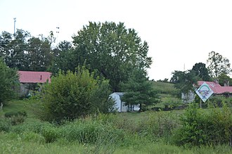 National Register of Historic Places listings in Clark County, Kentucky - Image: W. Bush Dykes House and outbuildings