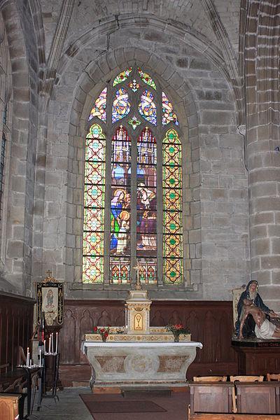 Chapelle nord, église Notre-Dame-de-Pitié, Fr-44-le Croisic.