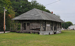 Former W&LE railroad station