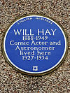 WILL HAY 1888-1949 Comic Actor and Astronomer lived here 1927-1934.jpg