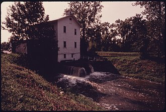 Valley View, Ohio - The old Alexander's Mill