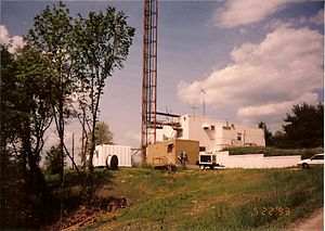 WOUB-FM - Image: WOUB FM & TV transmitter building