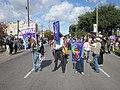 WWOZ 30th Birthday Parade Line Up Banners.JPG