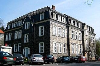 Waldbröl - Town hall in Waldbröl