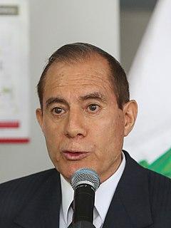 Walter Martos Peruvian politician and retired military general