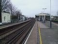 Wandsworth Town stn fast eastbound look east.JPG