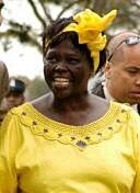 Wangari Maathai in Nairobi