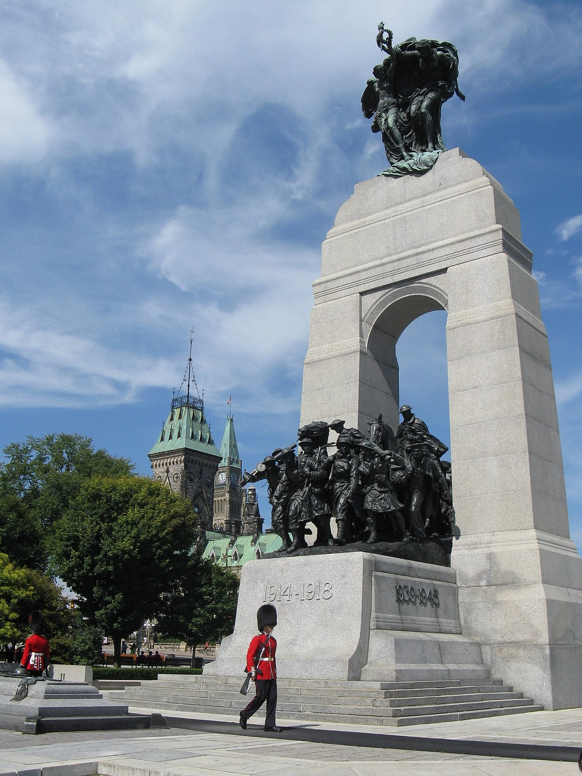 Memorial To Arthur Memorial: National War Memorial (Canada)