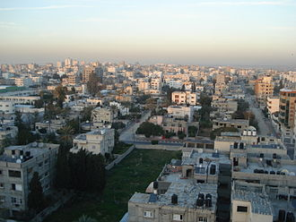 Gaza Strip - View of Gaza during the 2000s.