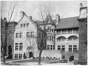 Warder Mansion - Image: Warder House 1515 K St NW circa 1900