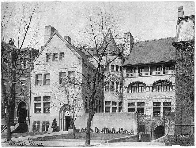 Warder House 1515 K St NW circa 1900