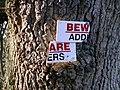 Warning notice - geograph.org.uk - 333701.jpg