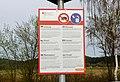 Warnschild an einem Autobahnparkplatz in Baden-Württemberg bei Bickelberg 03.jpg