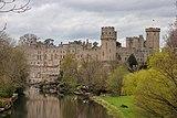 Warwick Castle, viewed from Castle Bridge, Warwick.jpg