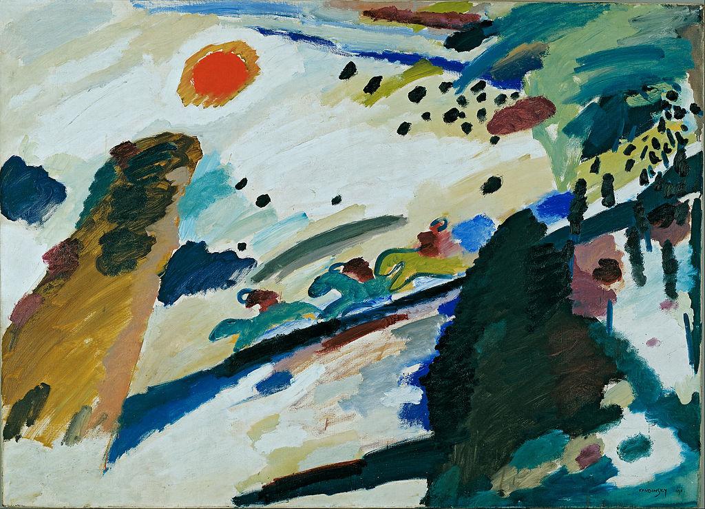 File wassily kandinsky romantic landscape google art for Landscape art projects