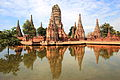 Wat Chaiwatthanaram and Reflection.jpg