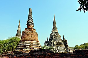 Wat Ratchaburana, Ayutthaya - Image: Wat ratchaburana