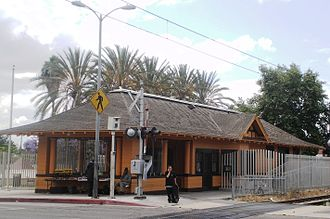 Watts, California - Watts Station in 2008
